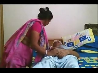 Desi Maid Quickie With Old Uncle