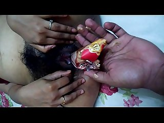 mallu girl ketki from mumbai helping boyfriend to insert cone ice cream in pussy