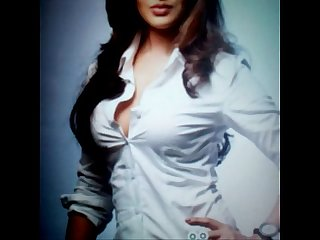 Cum tribute to sexy RIya Sen